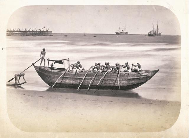 Masulah boat, Madras