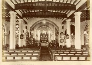 The inside of St. Stephen's church, Ootacamund