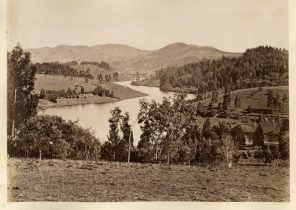 Ooty lake from the West