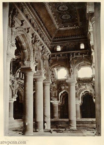 Interior of the Palace, Madura
